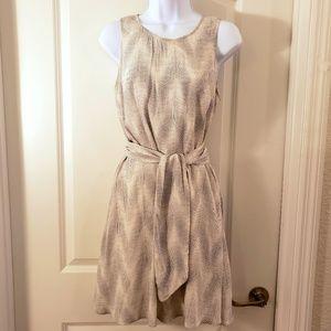 Gap Waist Tie Dress